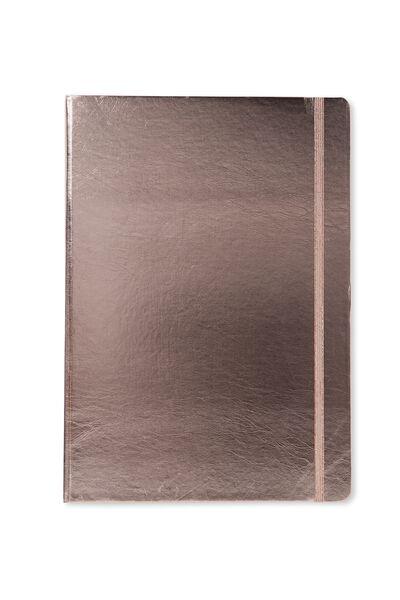 A4 Buffalo Journal, ROSE GOLD METALLIC
