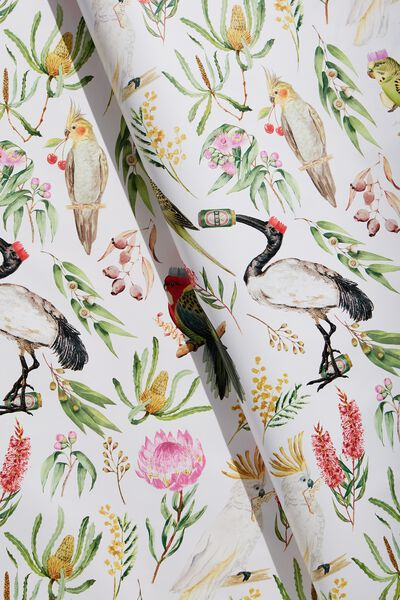 Wrapping Paper Roll, AUSTRALIANA NATIVES!