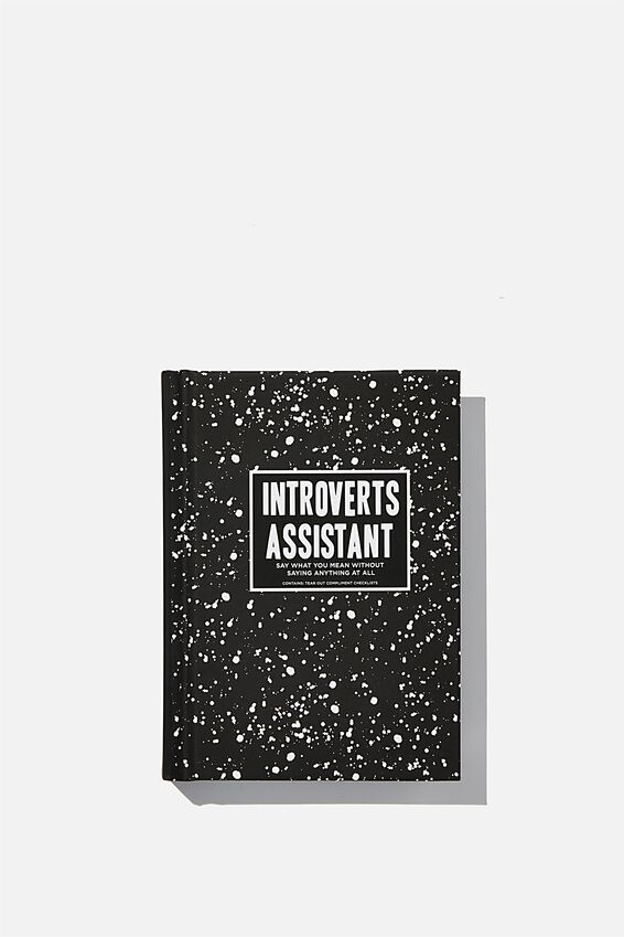 Mini Introvert Activity Journal, INTROVERT ASSISTANT