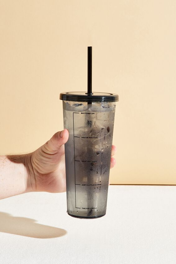 Sipper Smoothie Cup, BLACK