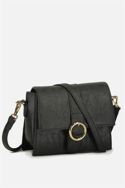 Micro Cross Body Bag, BLACK