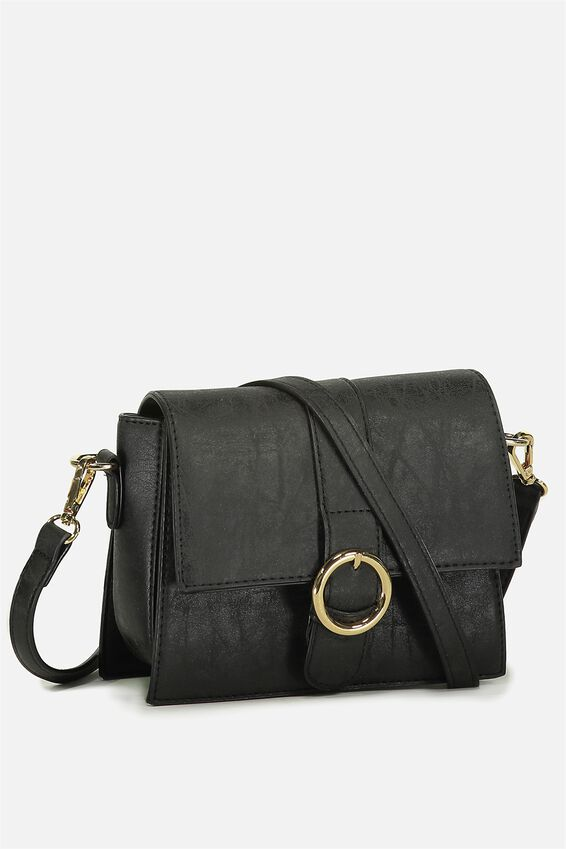 Micro Cross Body Bag, BLACK