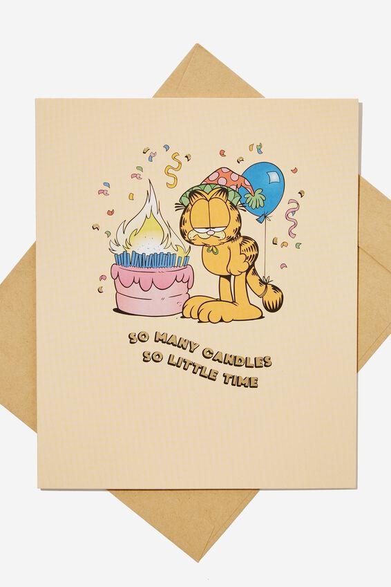 Funny Birthday Card, LCN GAR SO MANY CANDLES