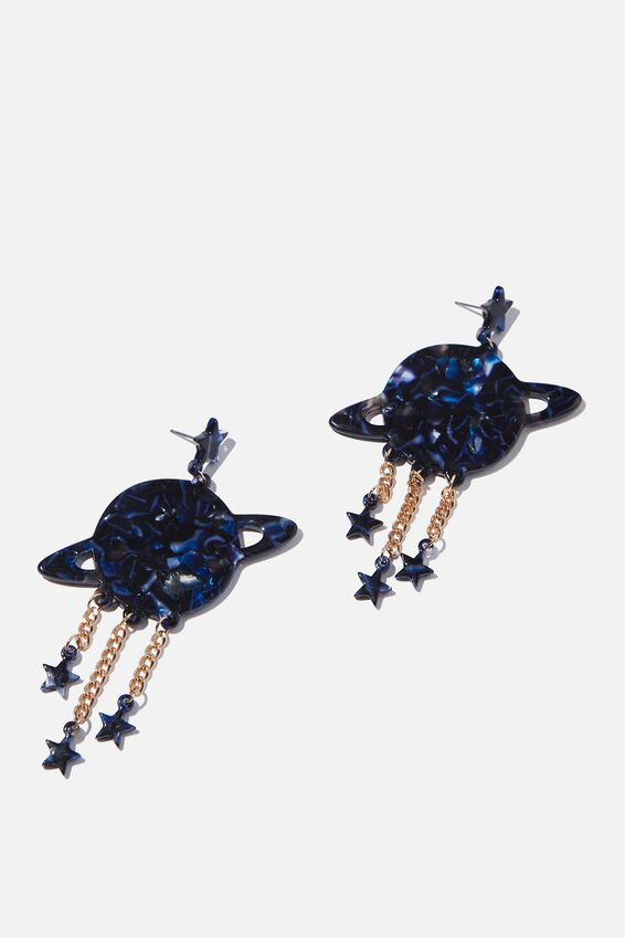 Premium Novelty Earrings, PLANET & STARS