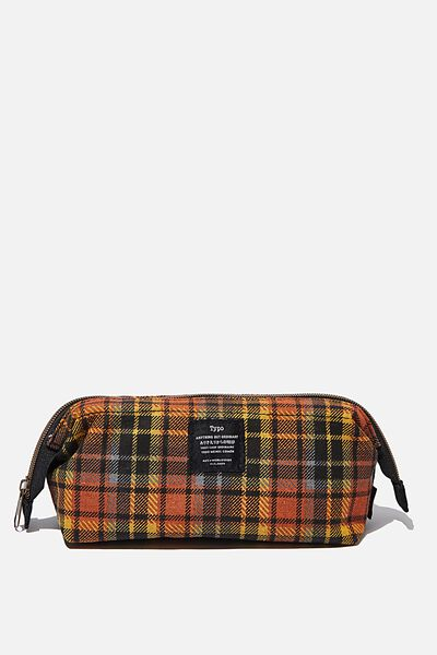 Billie Pencil Case, GRUNGE TARTAN