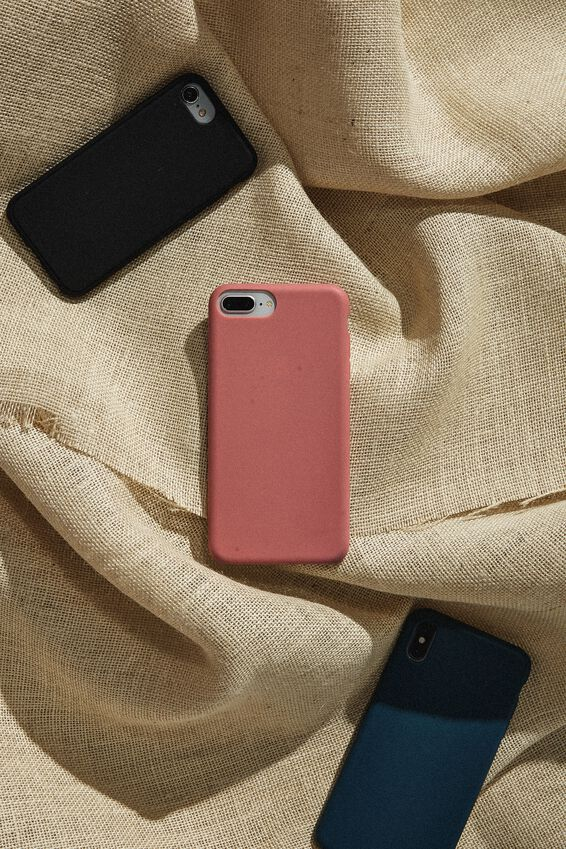 Slimline Recycled Phone Case Iphone SE, 6,7,8, DUSTY ROSE