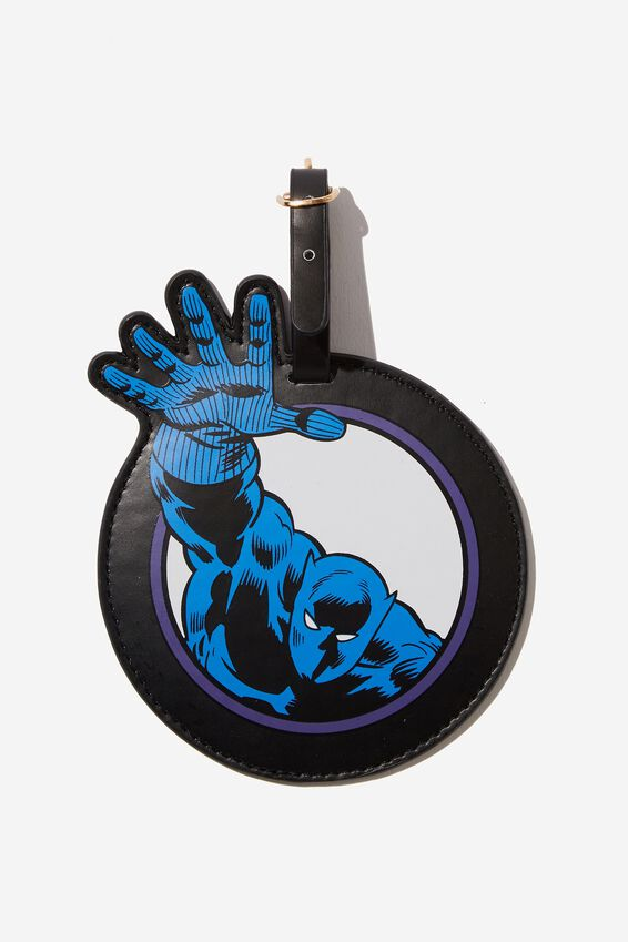 Marvel Shape Shifter Luggage Tag, LCN PANTHER ICON