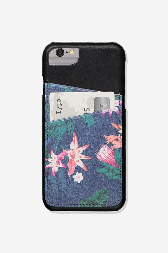 The Phone Cardholder 6,7,8, JUNGLE FLORAL