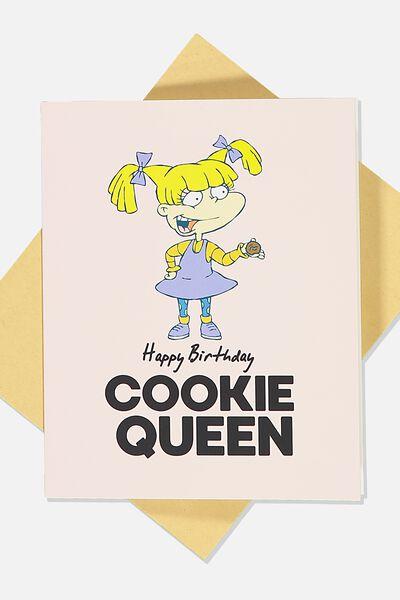 Nice Birthday Card, LCN NIC RU COOKIE QUEEN