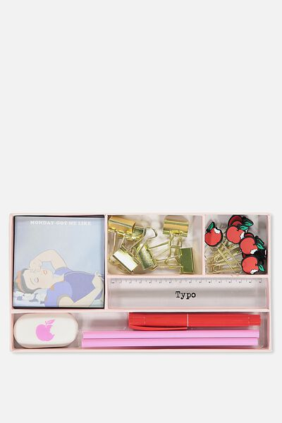 Desk Set, LCN SNOW WHITE