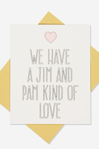 Love Card, LCN UNI OFFICE JIM AND PAM