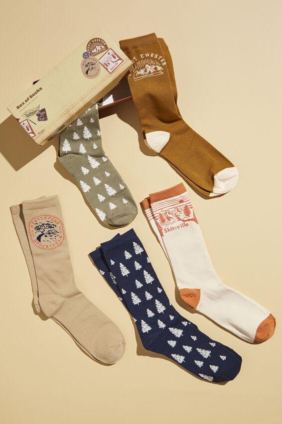 Box Of Socks, EXPLORING MOUNTAINS