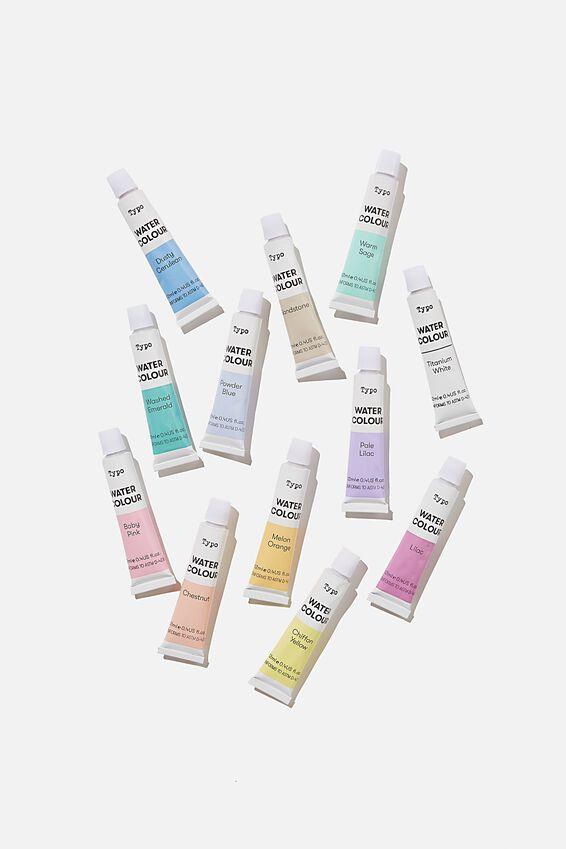 Watercolour Paint Set, PASTELS