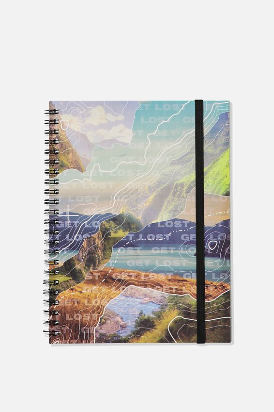 Small Spinout Notebook - V, DIGITAL MOUNTAIN