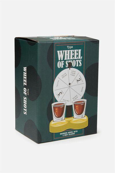 Wheel Of Shots Game, MULTI