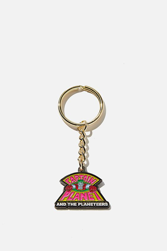 Captain Planet Enamel Keyring, LCN CAPTAIN PLANET