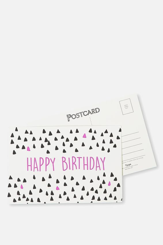 Postcard, HAPPY BIRTHDAY 3