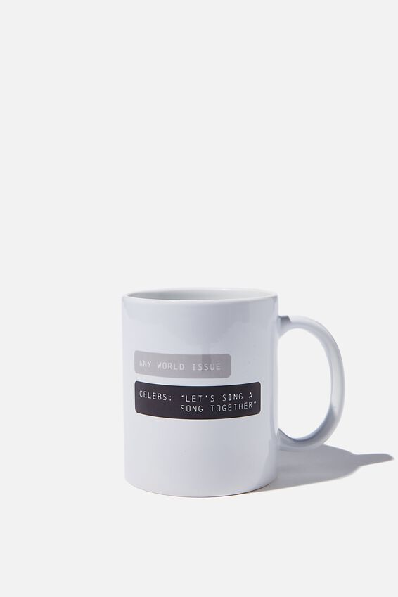 Limited Edition Anytime Mug, CELEBS SING A SONG