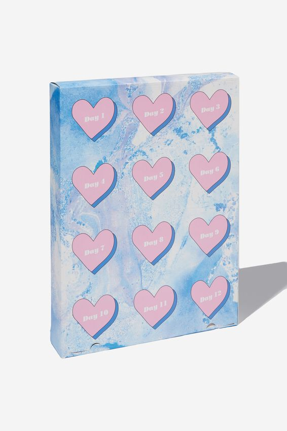 Beauty Christmas Advent Calendar, BLUE LACE
