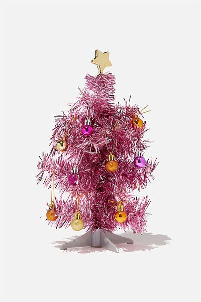 Mini Christmas Tree Pack, PINK & BRIGHTS