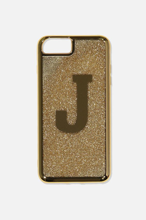 Shake It Phone Case 6, 7, 8 Plus, GOLD J