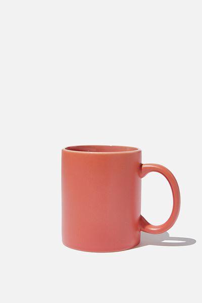 Anytime Mug, MATTE PEACH