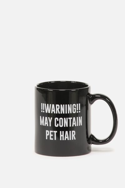 Anytime Mug, WARNING