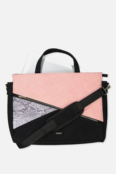Premium Laptop Bag 15 Inch, SNAKE AND SUEDE