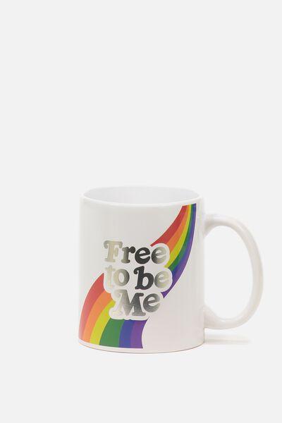 Anytime Mug, FREE TO BE ME