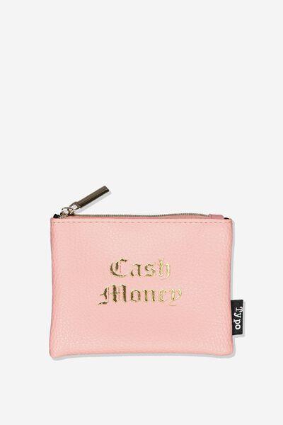 Fashion Coin Purse, CORAL CASH
