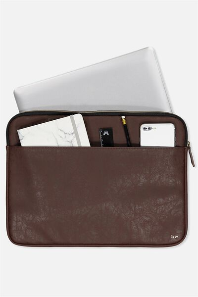 Core Laptop Cover 15 Inch, RICH TAN