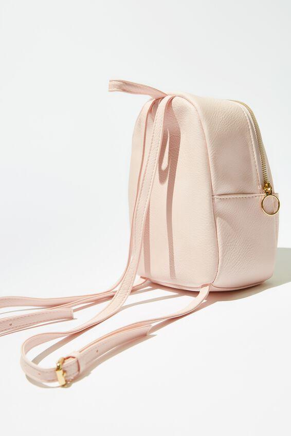 Mini Cairo Backpack, BLUSH CAT