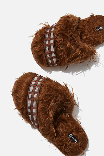 Novelty Slippers, LCN LU STAR WARS CHEWBACCA