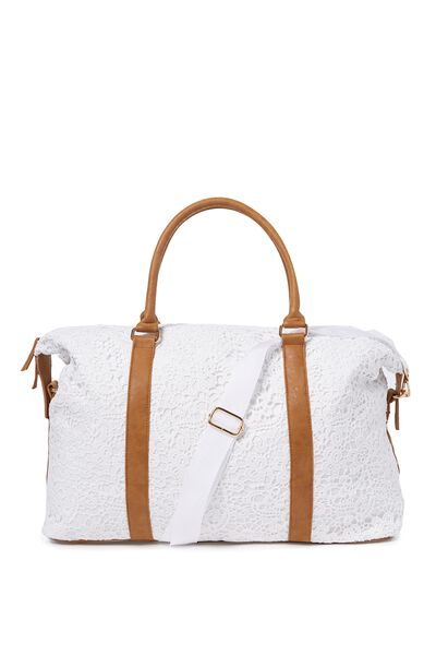 Neo Weekender Bag, WHITE LACE