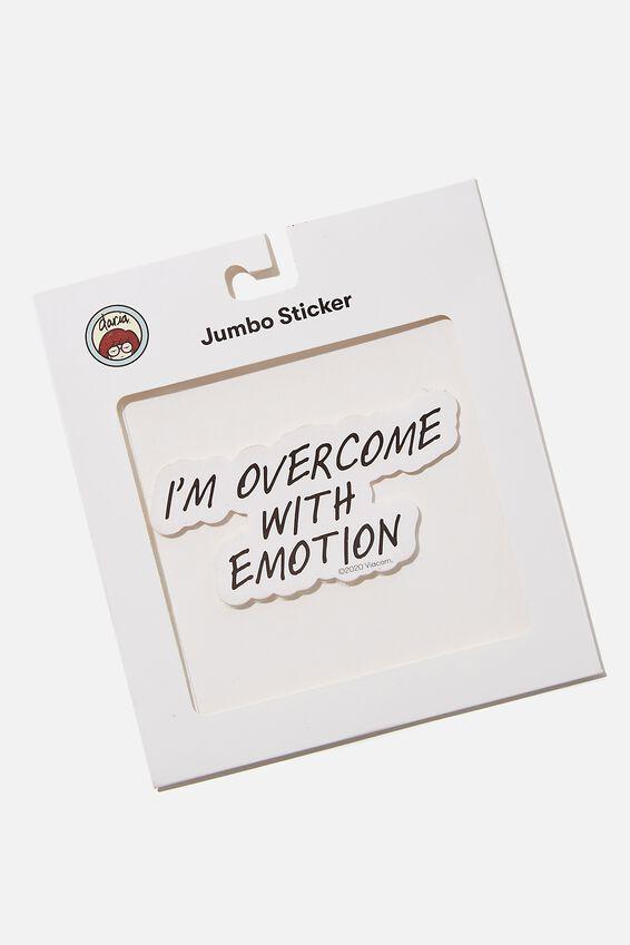 Daria Jumbo Sticker, LCN MTV DA EMOTION