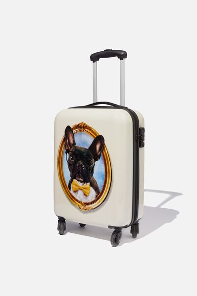 Tsa Small Suitcase, FRENCHIE PORTRAIT