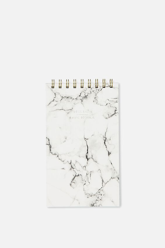Flip Out Notepad 200Pgs, MARBLE