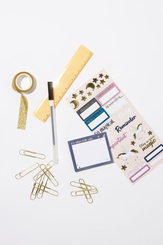 Stationery Essentials Pack, UNICORNS