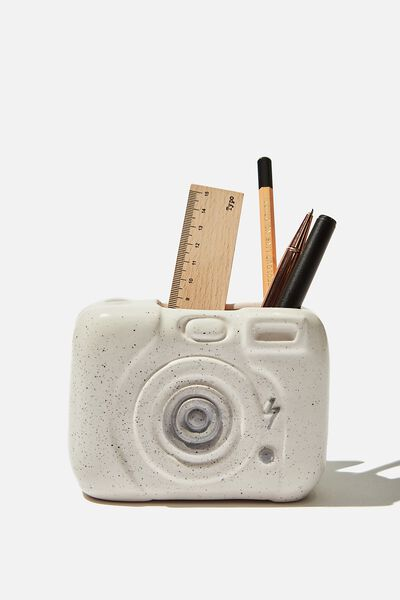 Pen Holder, SPECKLED CAMERA