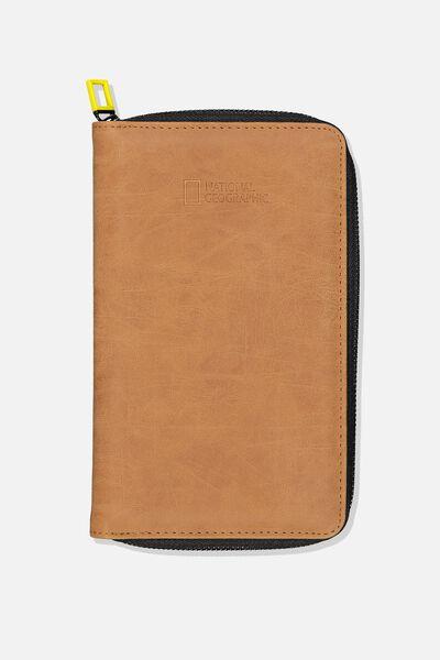 Rfid Odyssey Travel Compendium Wallet, LCN NG LOGO