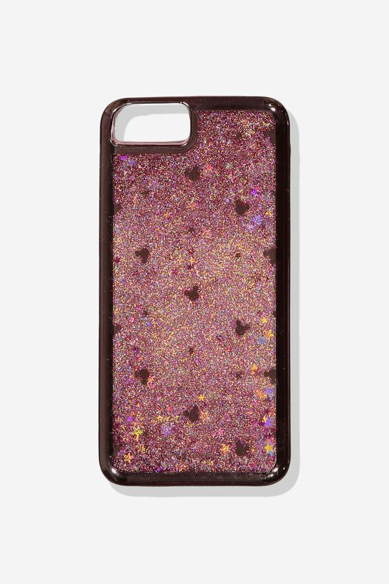 Disney Shake It Phone Case 6, 7, 8 Plus, LCN DIS ROSE GOLD MICKEY HEAD