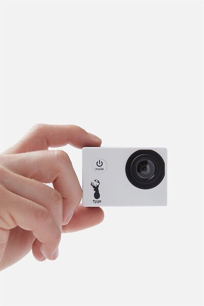 Action Camera, WHITE