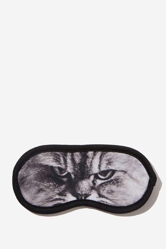 Easy On The Eye Sleep Mask, CAT FACE PHOTOG