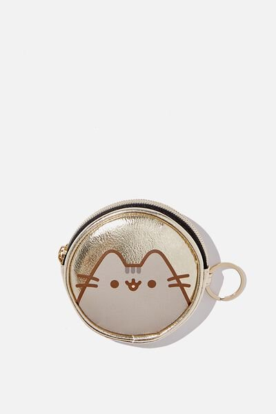 Fashion Coin Purse, LCN PUSHEEN CIRCLE