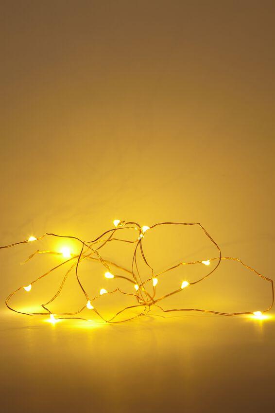 Twinkle Lights 1.5M, WARM LIGHT