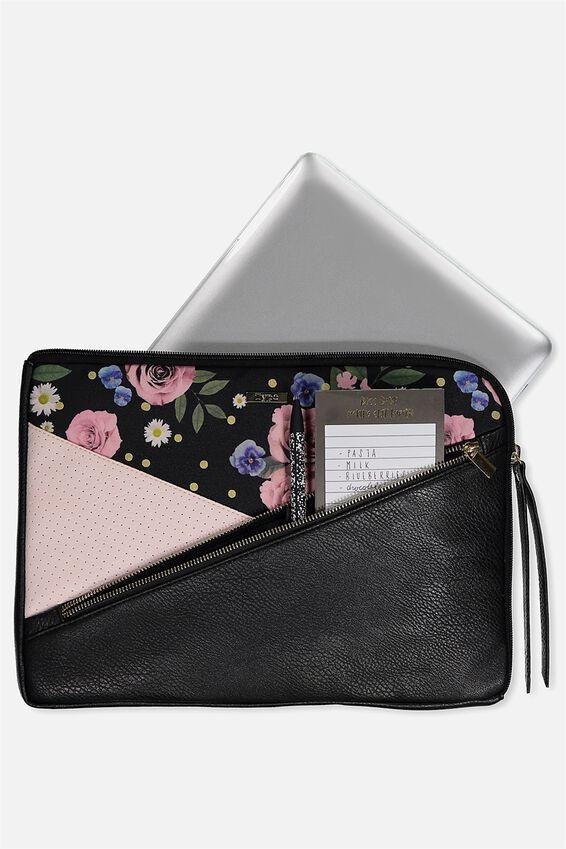 Premium Laptop Case 13 inch, POLKA FLORAL