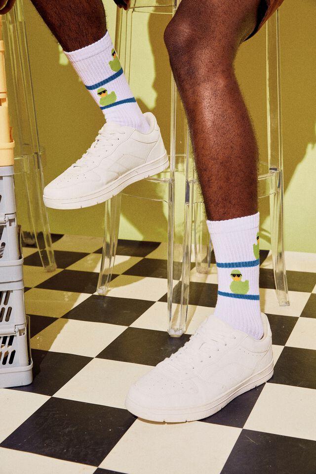 Socks, COOL DUCK LINES