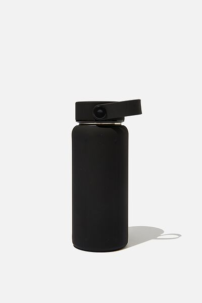 The Traveller Drink Bottle, BLACK