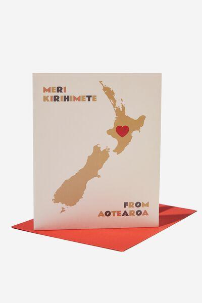 Christmas Card 2021, RG NZ MAP