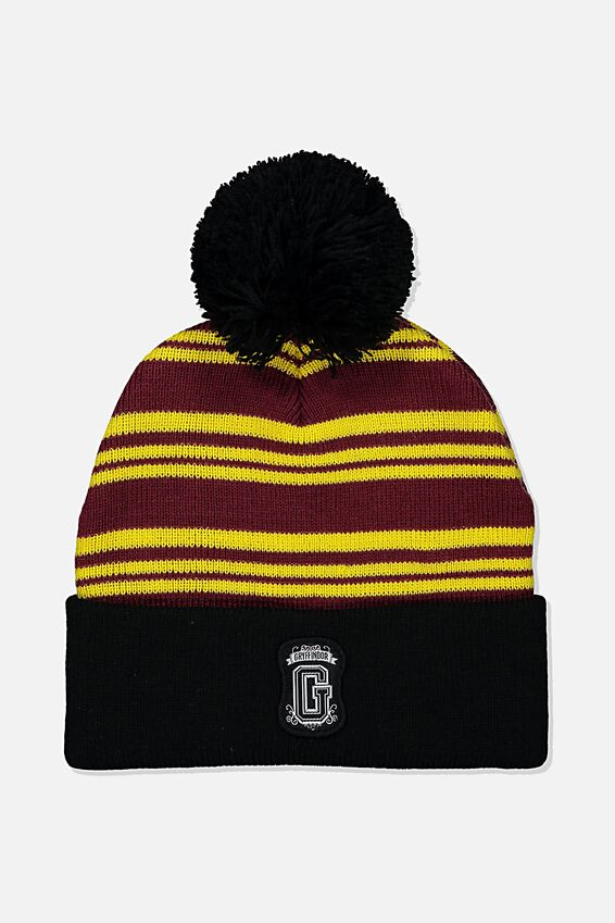 Harry Potter Novelty Beanie, LCN WB HPO GRYFFINDOR